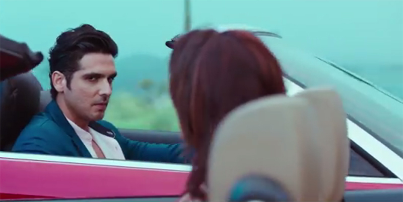 zayed khan look in tv show haasil
