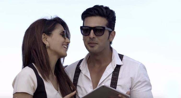 zayed khan with nikita dutta in haasil