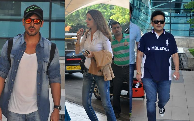 Exclusive | Celebs Spotted At The Airport