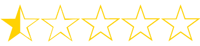 zero point five stars