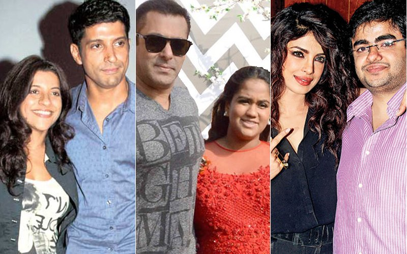 Raksha Bandhan Special: Meet The Coolest Brother-Sister Duos Of Bollywood