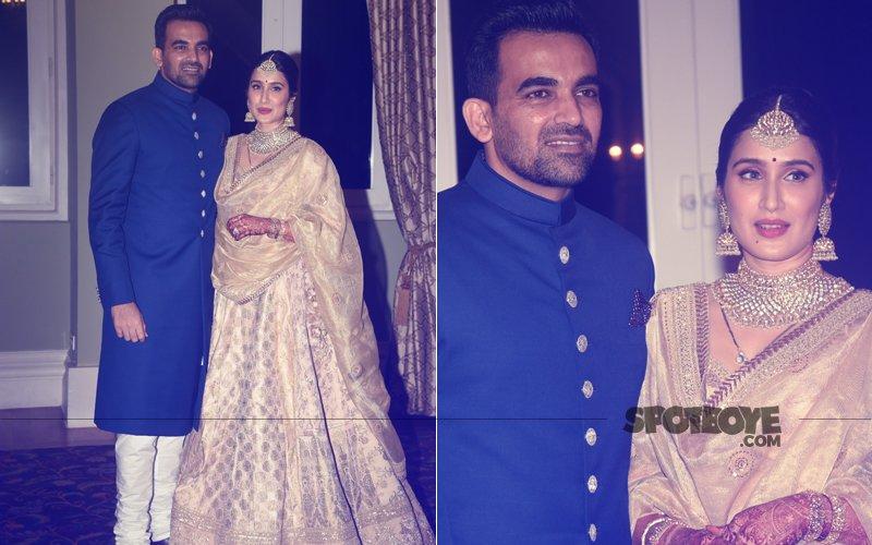 These Pictures Prove That Zaheer Khan & Sagarika Ghatge's Wedding Reception Was A SPLENDID Affair