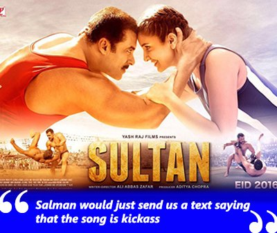 sultan movie poster salman khan anushka sharma