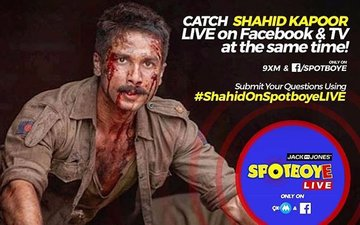 SPOTBOYE LIVE: Shahid Kapoor Live On Facebook And 9XM!