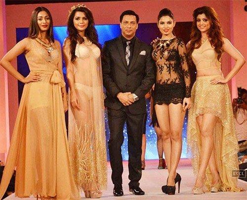 madhur bandarkar with his calendar girls