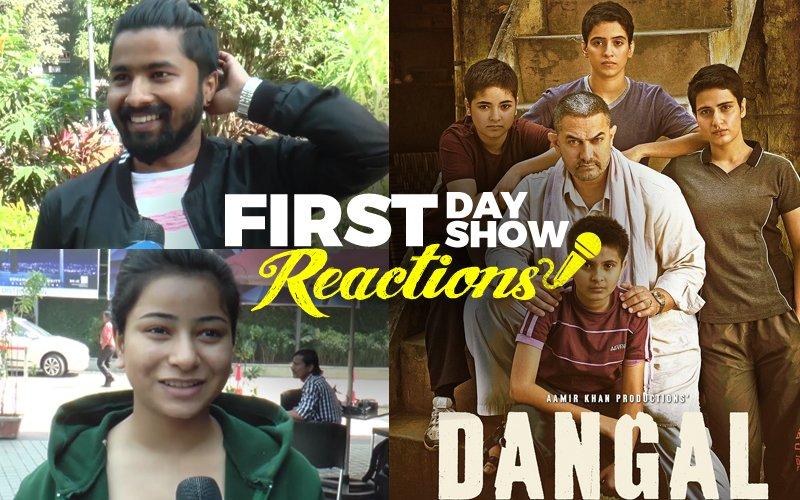 First Day First Show: Aamir Khan's Dangal Gets A Roaring Response