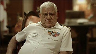 om puri as a naval officer in a still from ghazi