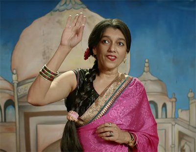 ratna pathak in lipstick under my burkha