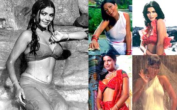 On The Birthday Of Bollywood's Sexiest Water Baby Zeenat Aman, Here Are Her Wet And Wild Moments