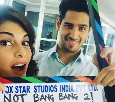 jacqueline fernandez and sidharth malhotra in their next movie reloaded