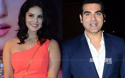 sunny leone and arbaaz khan to be paired opposite eachother in tera intezaar