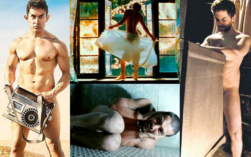 Bollywood Male Actors Who Went Naked & Bared It All!