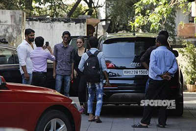 alia bhatt snapped post gym obliging some fans on her birthday with a selfie
