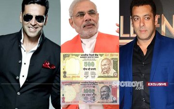 When Akshay & Salman Are The Highest Tax-Payers, Why Would The Rs 500 & Rs 1000 Notes Ban Affect Bollywood?
