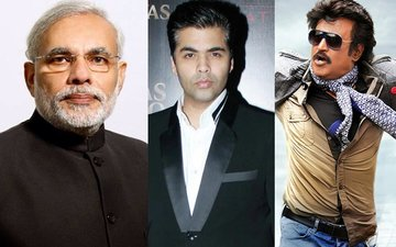 PM Narendra Modi Says Thanks To Karan Johar, Rajinikanth... For Supporting The Ban On 500 & 1000 Notes