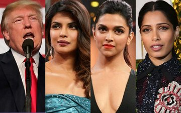 Bollywood Exports Priyanka, Deepika, Freida Keep Mum On Donald Trump's Win
