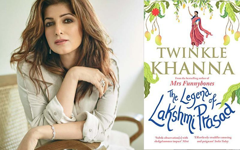 Guess Who First Read Twinkle Khanna's Book, The Legend Of Lakshmi Prasad