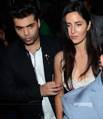Katrina Kaif Refuses To Have Koffee With Good Friend Karan Johar