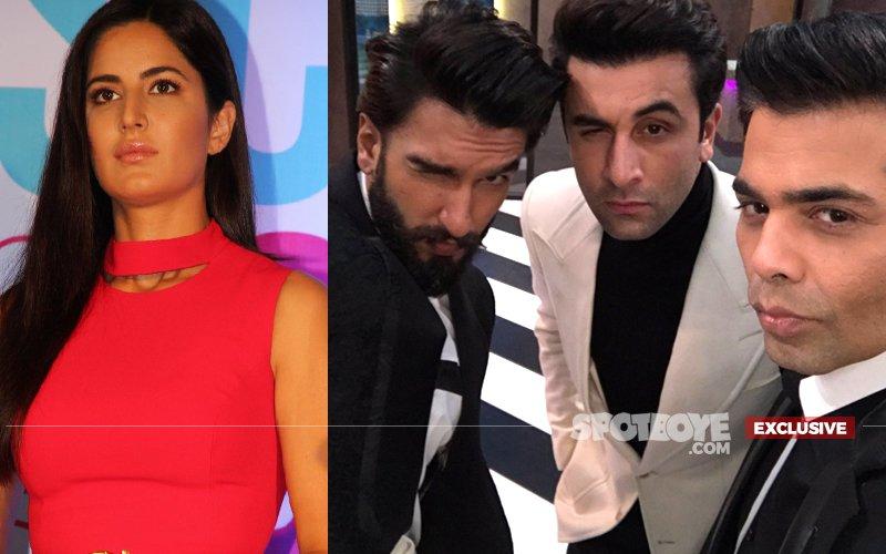 Have Ranbir & Ranveer Hurt Katrina In Koffee With Karan?