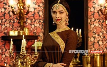 Deepika Padukone Struggles With Rajasthani Folk Dance Sequence; Tough Start For SLB's Padmavati!!