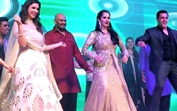 Salman And Parineeti Shake A Leg At The Sangeet Of Sania Mirza's Sister