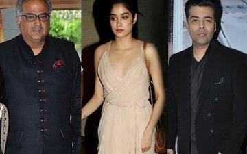 Boney Kapoor Confirms His Daughter Jhanvi Will Be Launched By Karan Johar