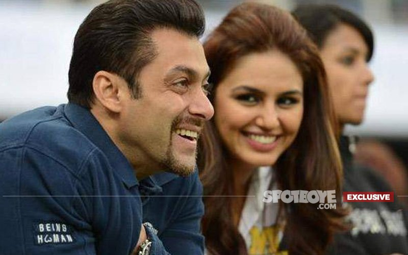 Salman Khan And Huma Qureshi Kiss And Make Up