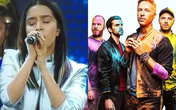 Coldplay In India: Shraddha Kapoor Sings Her Bollywood Hits