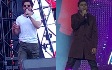 Coldplay In India: Shah Rukh Khan Welcomes AR Rahman On Stage