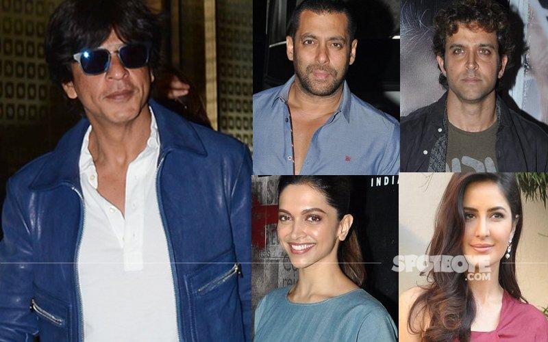 SRK Gets Salman Khan, Hrithik Roshan, Deepika Padukone, Katrina Kaif Under One Roof For Coldplay's After-Party