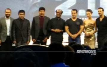 Rajinikanth, Salman Khan And Akshay Kumar Come Together To Launch The Trailer Of 2.0
