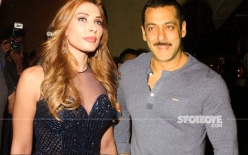 SCOOP SIGHTING: Iulia Vantur With Salman Khan At Helen's Birthday Bash Last Night