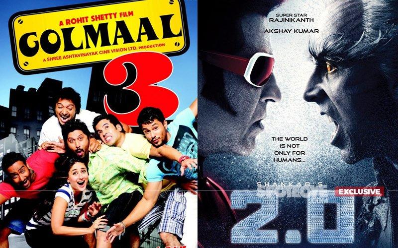 Ajay's Golmaal 4 Vs Rajinikanth & Akshay's 2.0: Is Devgn Headed For Another Box-Office Blunder?