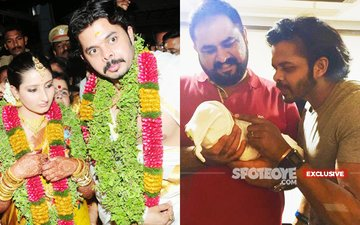 Cricketer-Actor Sreesanth Is A Father Again, This Time It's A Baby Boy!