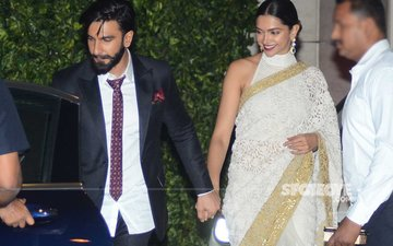 Ranveer-Deepika Hand In Hand At Mukesh Ambani's Party; Have They Really Sorted Out Their Differences?
