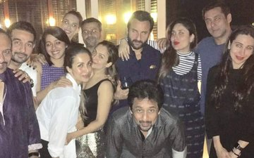 SPOTTED: Salman Khan, Iulia Vantur, Kareena Kapoor And Saif Ali Khan Party All Night!