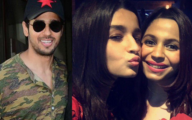 CAPTURED: Sidharth Malhotra Joins Alia Bhatt For A Family Lunch!