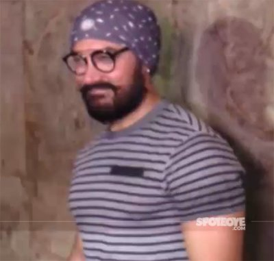 Aamir Khan At Dangal Meet