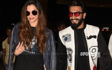JUST IN: Deepika Padukone & Ranveer Singh Fly To Dubai. Sorting Out Their Differences?