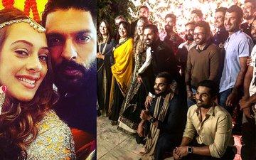 Virat Kohli And His Boys Gather For Yuvi And Hazels' Wedding