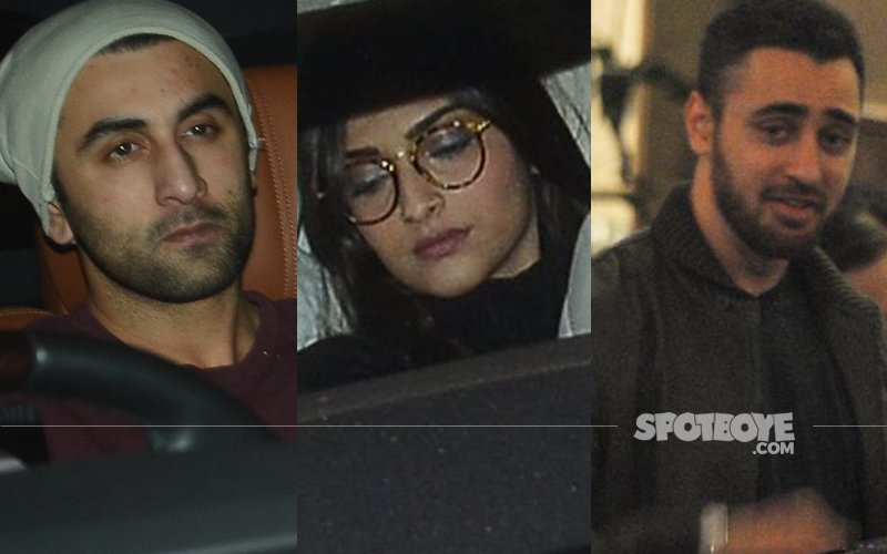 OMG: Ranbir Kapoor Gets 'Senti' As He Reunites Old Gang For House Party