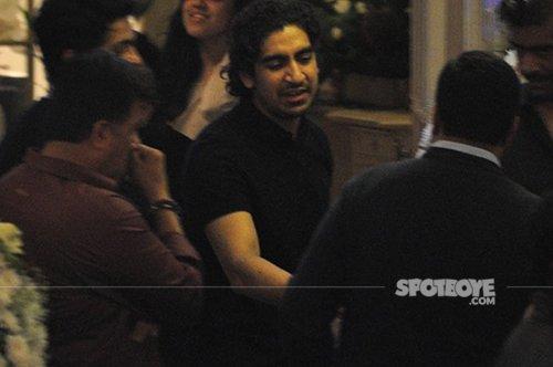 Ayan mukherjee at the party