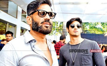 BUZZ: Sunil Shetty's Son Ahan Lands A 3-Film Deal