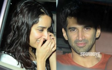 SCOOP: Ex-Lovers Shraddha Kapoor And Aditya Roy Kapur Dedicate Songs To Each Other At Shaad Ali's Party