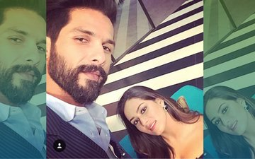 Shahid Kapoor Sips Coffee With Mira Rajput On Koffee With Karan Season 5