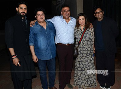 boman irani celebrated his birthday with his close friends