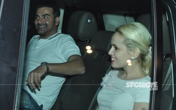 SPOTTED: After Goan Romance, Arbaaz Khan Wines And Dines New Mystery Blonde