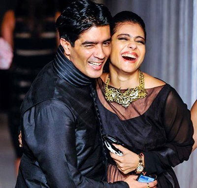 manish malhotra with kajol
