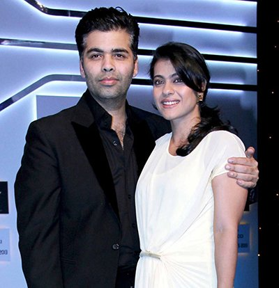 kajol with karan johar