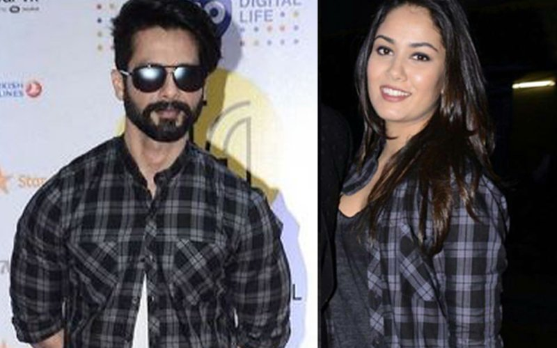 WHO WORE IT BETTER: Mira Rajput Borrows Shahid's Shirt For Night-Out